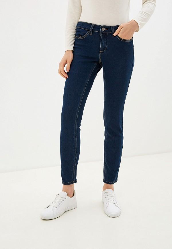 женские джинсы скинни tezenis, синие