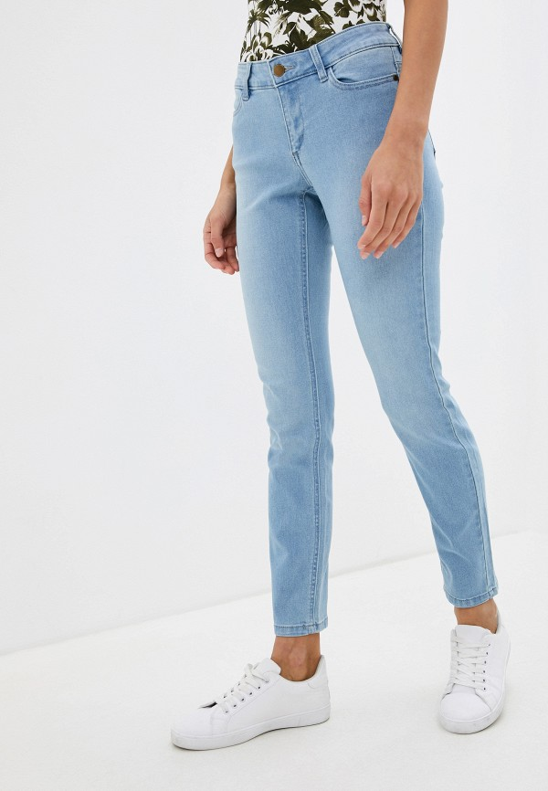 женские джинсы скинни tezenis, голубые