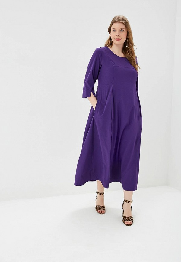 Купить Женское платье Svesta фиолетового цвета