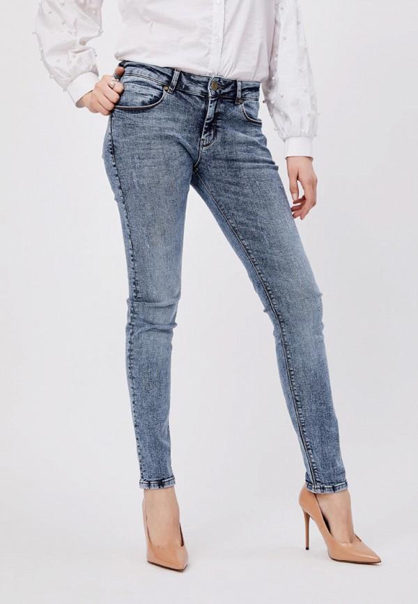 женские джинсы скинни whitney, голубые