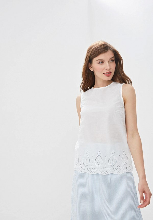 Фото - Блузу Zarina белого цвета