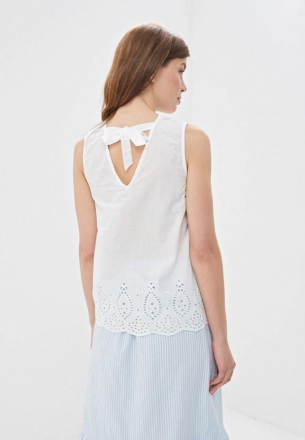 Фото 3 - Блузу Zarina белого цвета