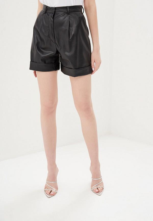 женские повседневные шорты self made, черные