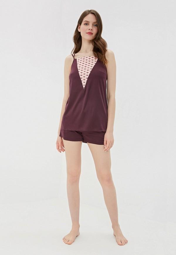 Пижама Laete цвет бордовый  Фото 2