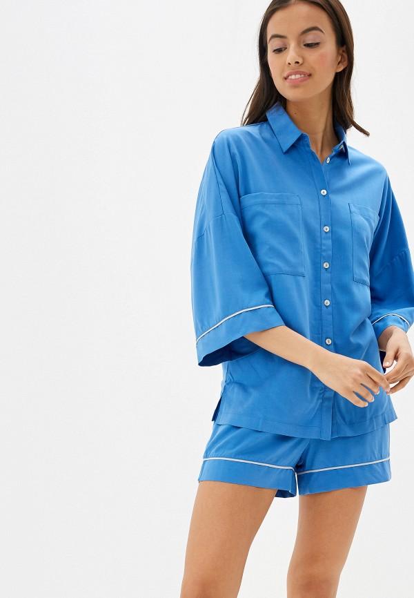 женский костюм laete, голубой