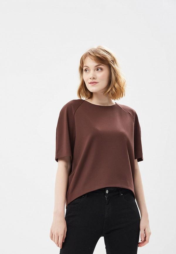 Купить Блуза Ruxara, MP002XW0MYYK, коричневый, Весна-лето 2018