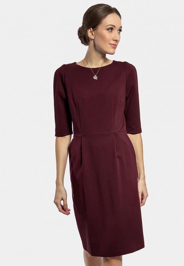 Фото - Женское платье Vladi Collection бордового цвета