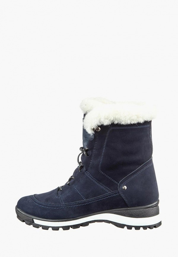 женские ботинки casual, синие