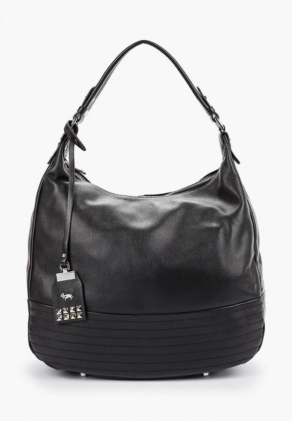 женская сумка с ручками labbra, черная