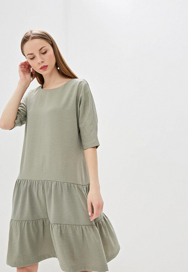 женское повседневные платье eliseeva olesya, хаки