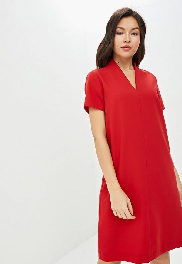 женское повседневные платье eliseeva olesya, красное