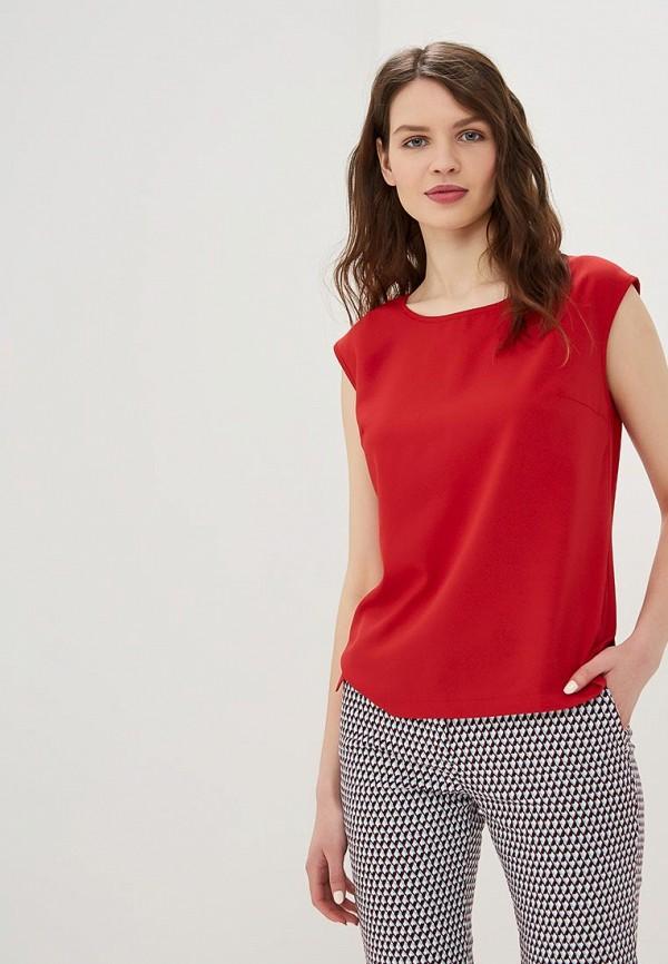 женская блузка eliseeva olesya, красная