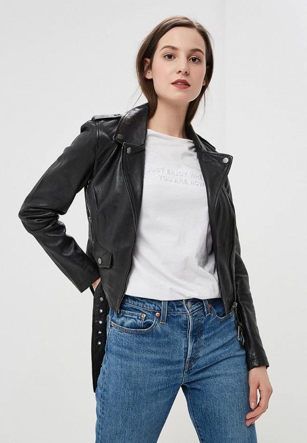 Куртка кожаная La Reine Blanche La Reine Blanche MP002XW0N3HL