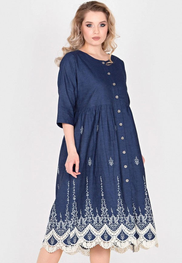 цена Платье джинсовое Filigrana Filigrana MP002XW0N3JV онлайн в 2017 году