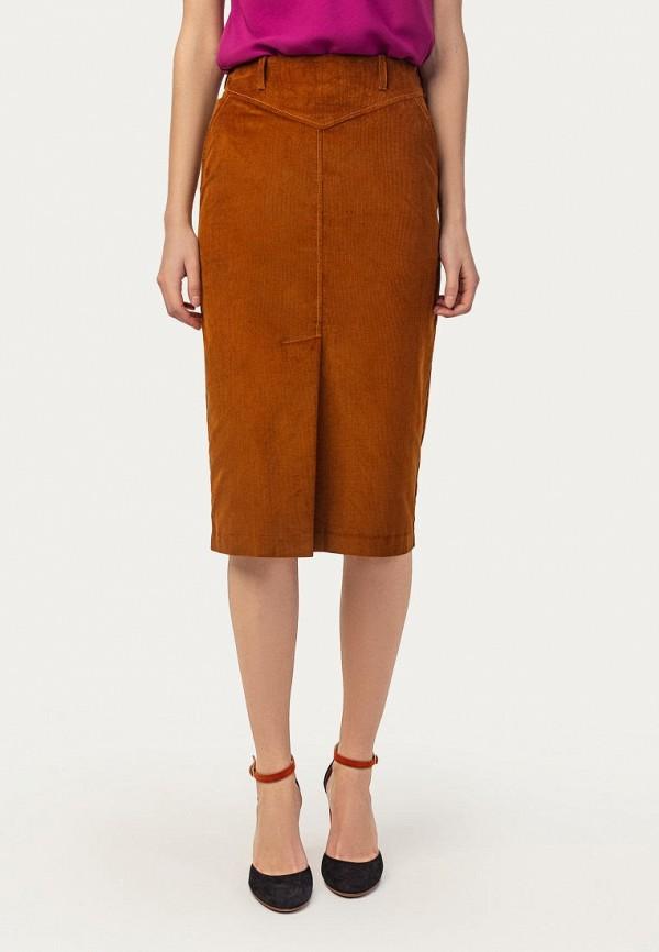 женская зауженные юбка stimage, оранжевая