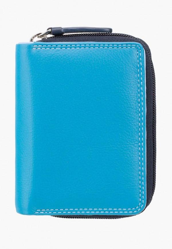 женский кошелёк visconti, голубой