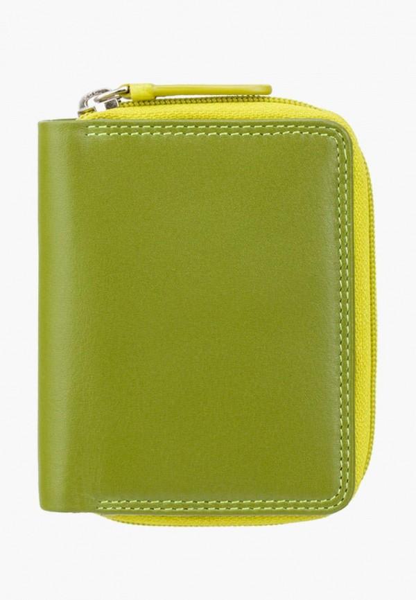 женский кошелёк visconti, зеленый