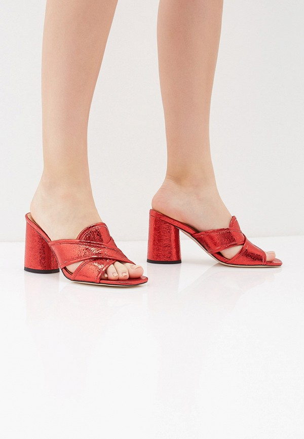 Сабо Inario цвет красный  Фото 6