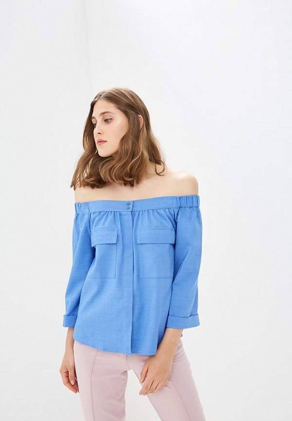 Купить Блуза Ruxara, mp002xw0no3x, голубой, Весна-лето 2018