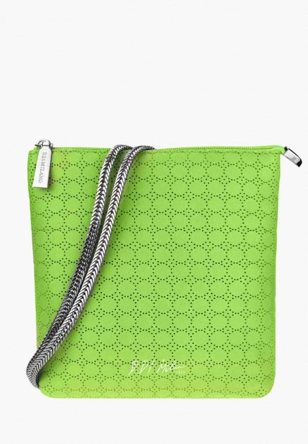 Купить Женскую сумку BB1 зеленого цвета