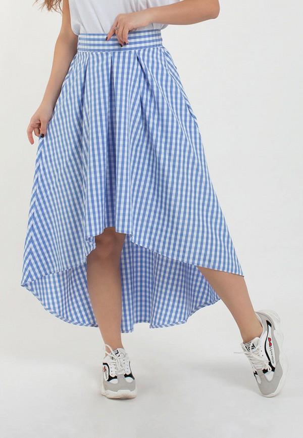 женская юбка modna anka, голубая