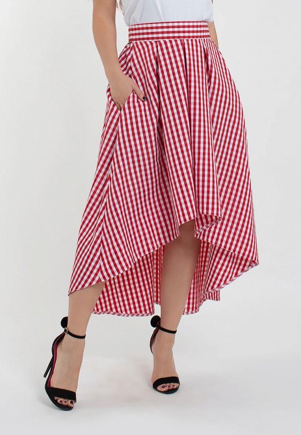 женская юбка modna anka, красная