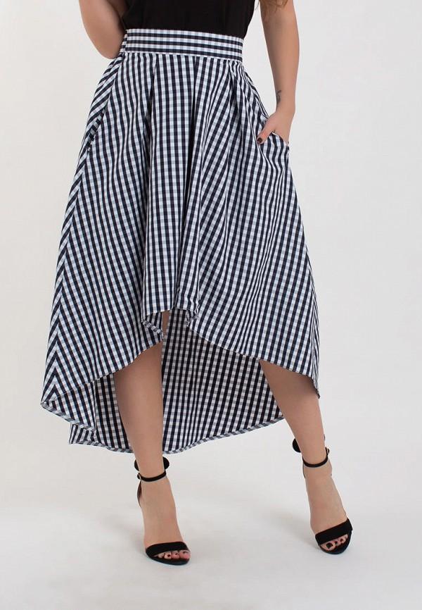 женская юбка modna anka, черная