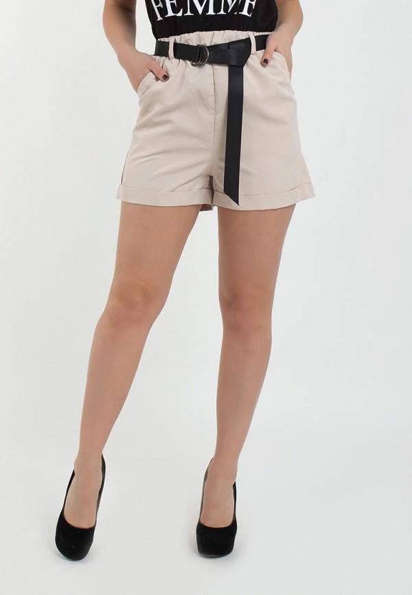 женские повседневные шорты modna anka, бежевые