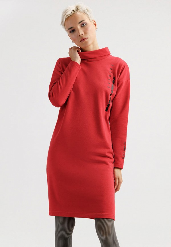Платье Finn Flare красного цвета