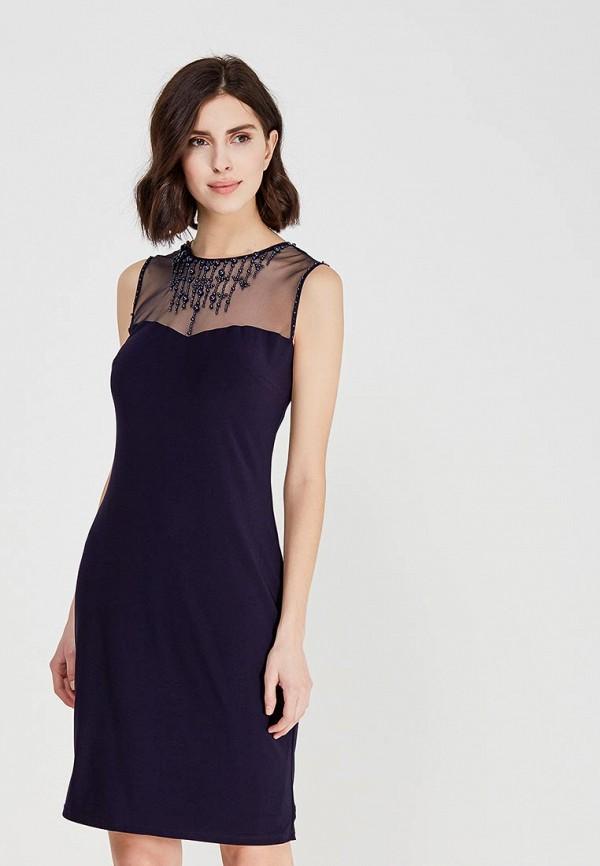 женское вечерние платье apart, синее