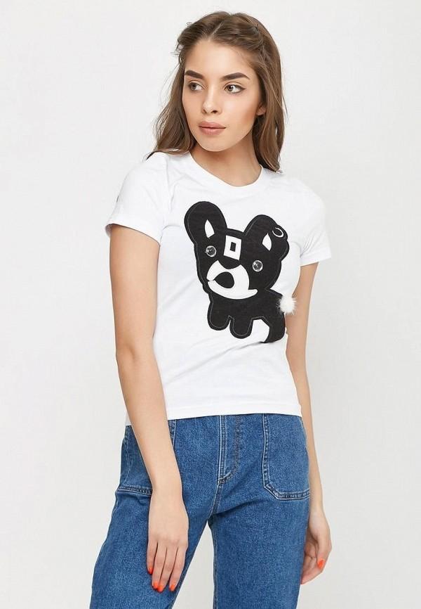 женская футболка sfn, белая