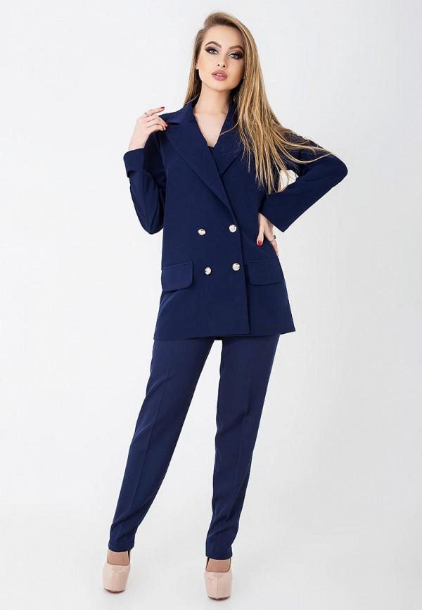 женский костюм leo pride, синий