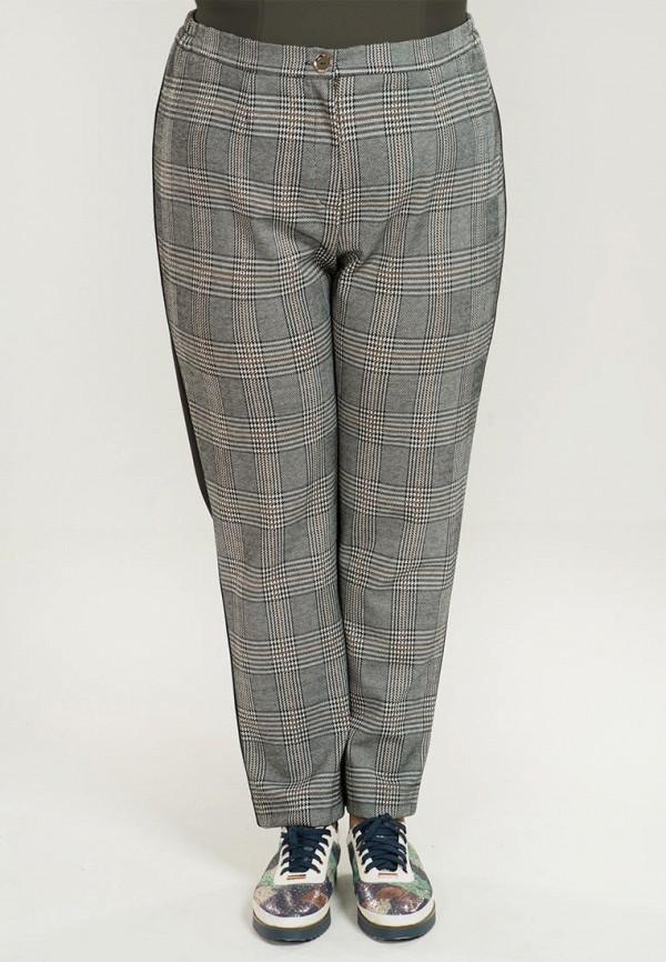 женские зауженные брюки luxury plus, серые