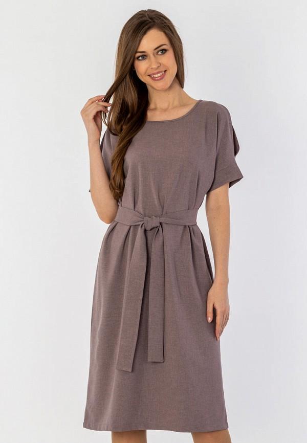 женское платье миди s&a style, фиолетовое