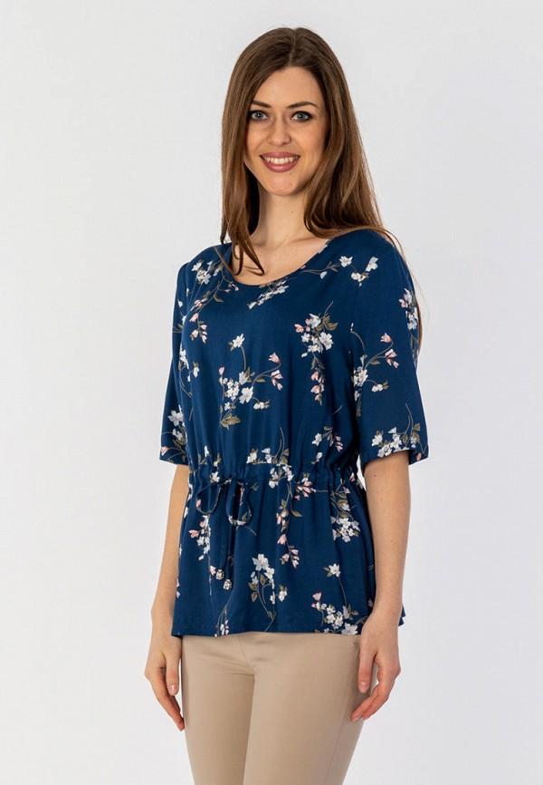 женская блузка s&a style, синяя