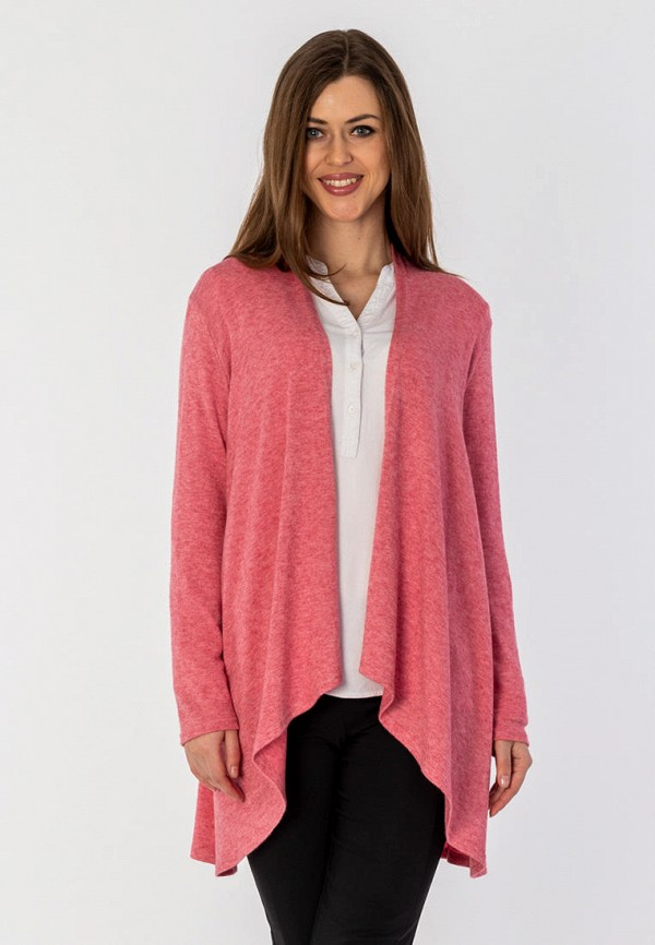 женский кардиган s&a style, розовый