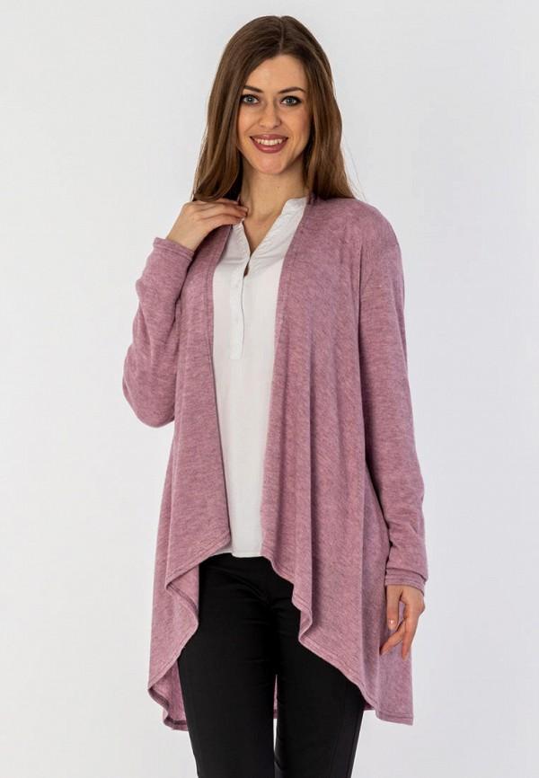 женский кардиган s&a style, фиолетовый