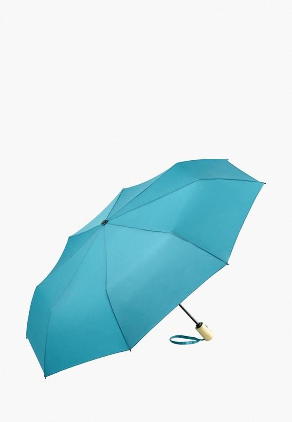 женский зонт fare, бирюзовый