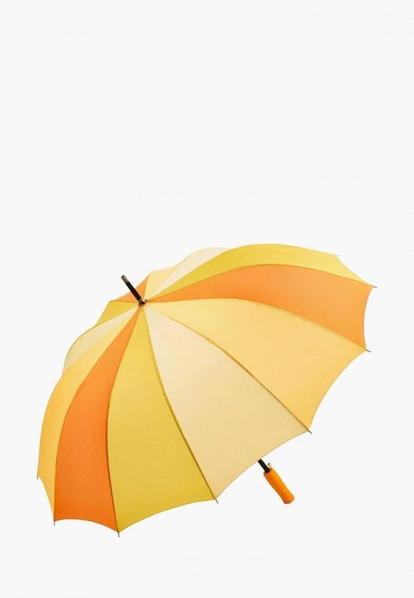 женский зонт fare, желтый