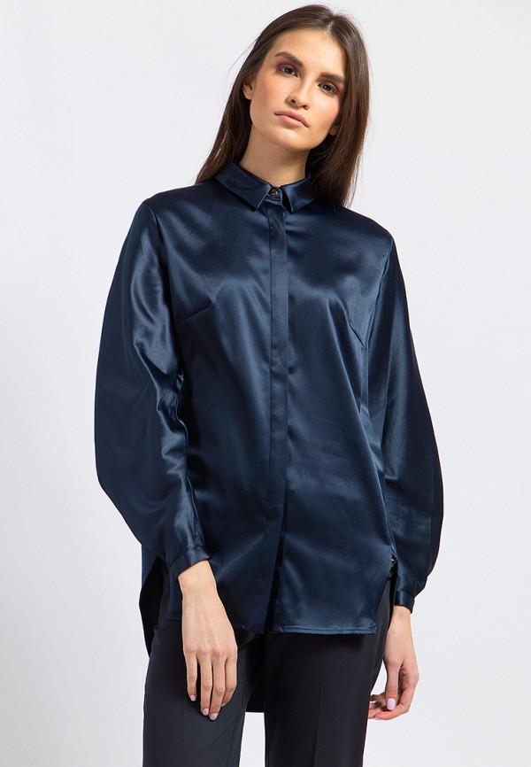 Купить Блуза Finn Flare, MP002XW0NYGC, синий, Осень-зима 2017/2018
