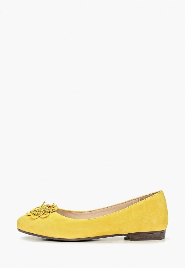 женские балетки pierre cardin, желтые