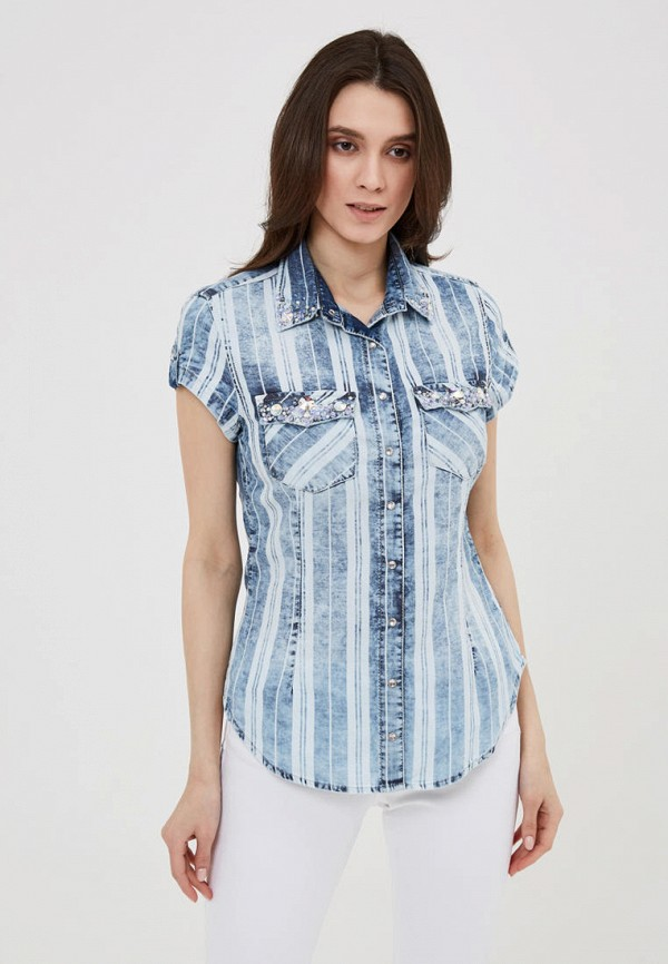 Рубашка джинсовая DSHE DSHE MP002XW0O7MY рубашка джинсовая dshe dshe mp002xw1h3lc