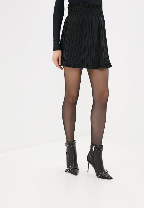 женская повседневные юбка love republic, черная