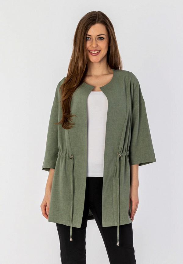 женский жакет s&a style, зеленый