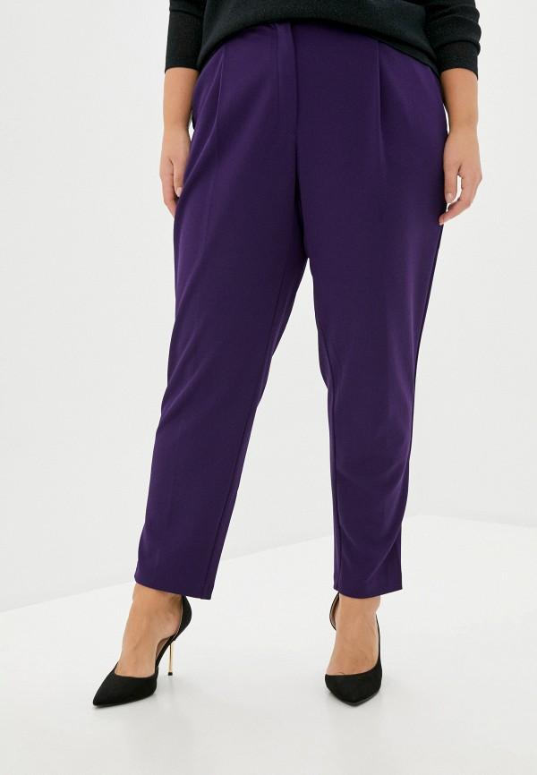 женские классические брюки olsi, фиолетовые