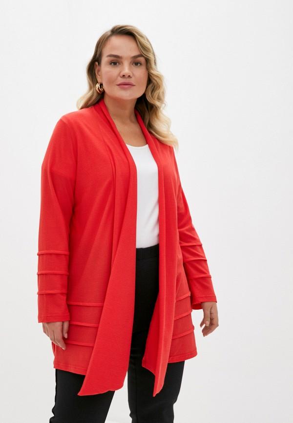 женский жакет olsi, красный