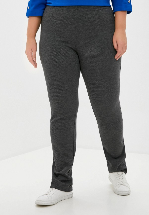женские зауженные брюки olsi, серые