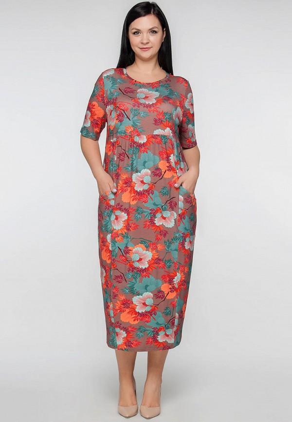женское платье limonti, коричневое