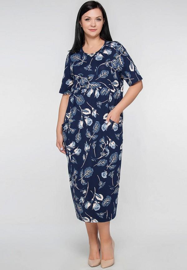 женское платье limonti, синее