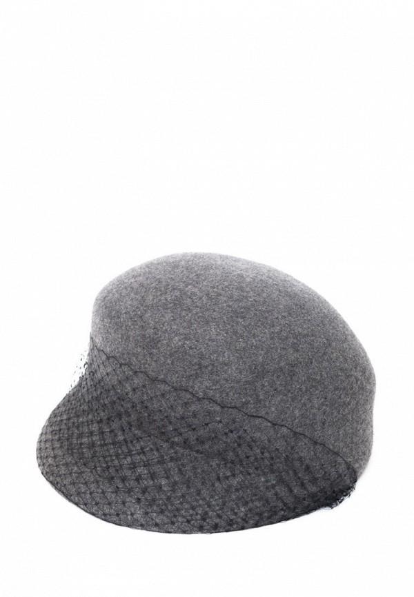 женская кепка elegant, серая
